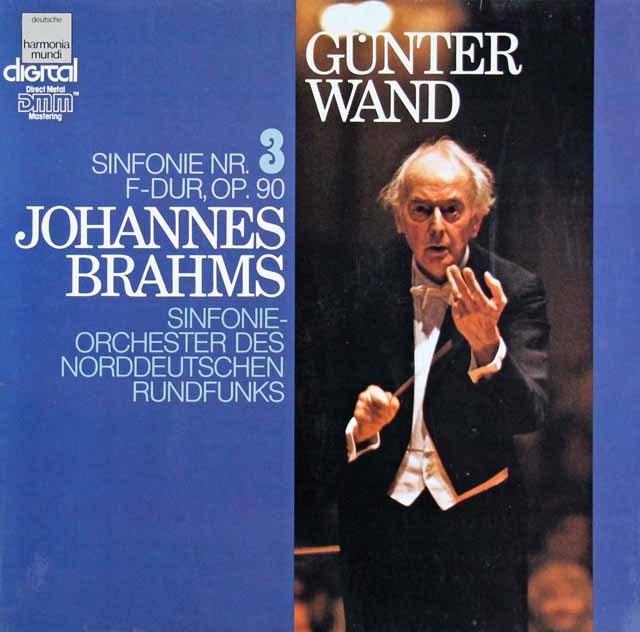 ヴァントのブラームス/交響曲第3番 独HM 3219 LP レコード