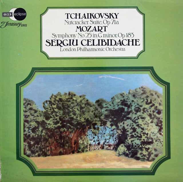 チェリビダッケのチャイコフスキー/「くるみ割り人形」組曲ほか 英DECCA 2839 LP レコード