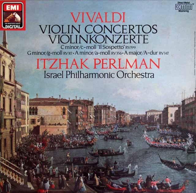 パールマンのヴィヴァルディ/ヴァイオリン協奏曲集 独EMI 2840 LP レコード