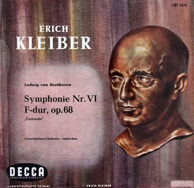 エーリヒ・クライバーのベートーヴェン/交響曲第6番「田園」 独DECCA 2841 LP レコード
