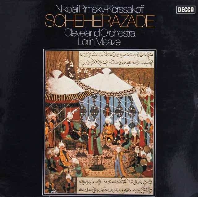 マゼールのリムスキー=コルサコフ/「シェヘラザード」 独DECCA 3294 LP レコード