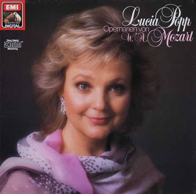 ルチア・ポップのモーツァルト/オペラ・アリア集 独EMI 3294 LP レコード