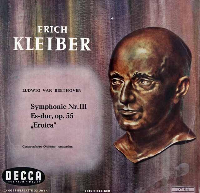 E.クライバーのベートーヴェン/交響曲第3番「英雄」 独DECCA 2843 LP レコード