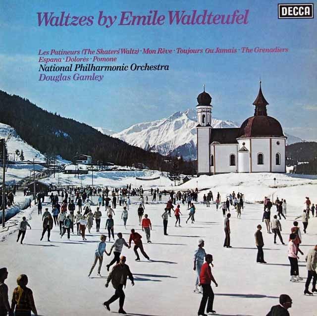 【オリジナル盤】 ギャムリーのワルトトイフェル/ワルツ集 英DECCA 3294 LP レコード