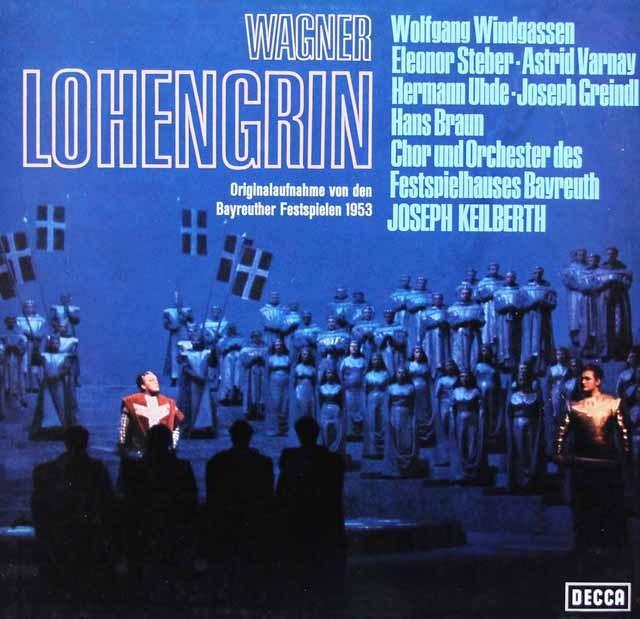 カイルベルトのワーグナー/「ローエングリン」全曲 独DECCA 3293 LP レコード