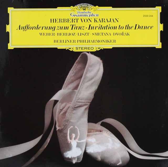 カラヤンのウェーバー/「舞踏への招待」ほか 独DGG 3293 LP レコード