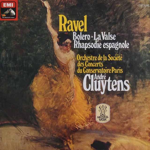 クリュイタンスのラヴェル/「ボレロ」ほか   独EMI 2848 LP レコード