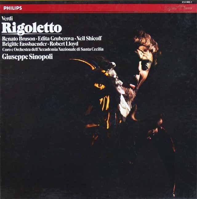 シノーポリのヴェルディ/「リゴレット」 蘭PHILIPS 2849 LP レコード