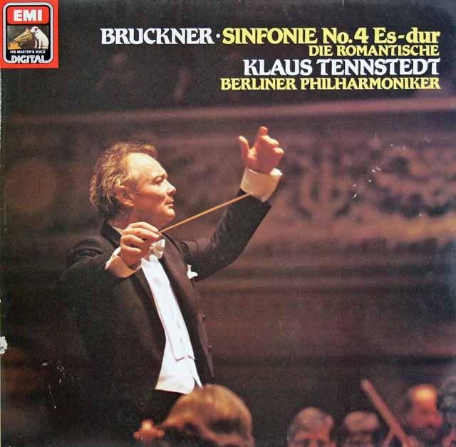 テンシュテットのブルックナー/交響曲第4番「ロマンティック」 独EMI 3293 LP レコード