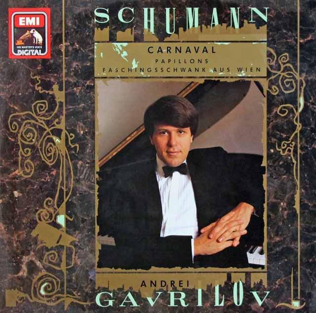 ガヴリーロフのシューマン/「謝肉祭」&「蝶々」ほか 独EMI 3293 LP レコード
