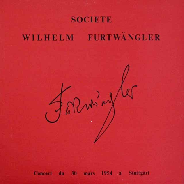 フルトヴェングラーの自作自演/交響曲第2番ほか 仏WF協会 3293 LP レコード