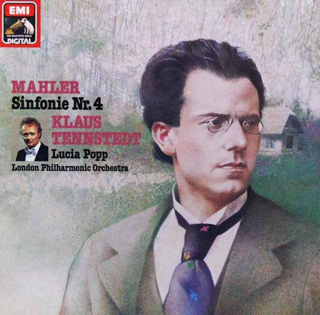 テンシュテットのマーラー/交響曲第4番 独EMI 2814 LP レコード