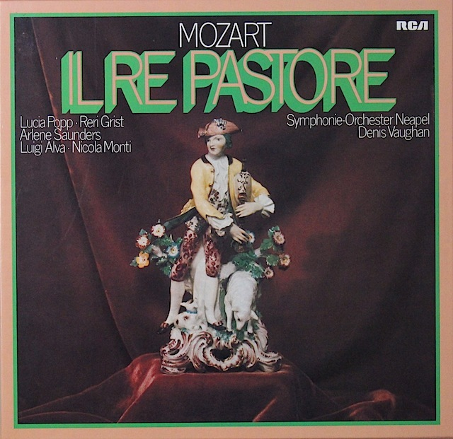グリスト&ポップらのモーツァルト/「羊飼いの王様」 独RCA 2820 LP レコード