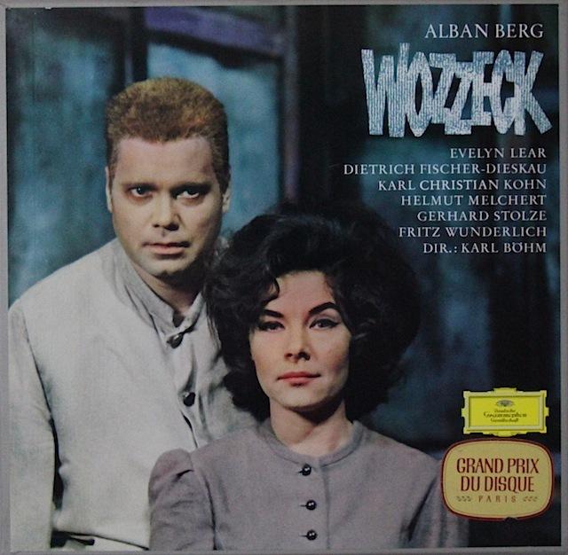【独最初期盤】 ベームのベルク/「ヴォツェック」全曲 独DGG 3297 LP レコード
