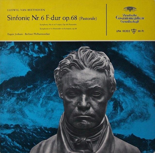 ヨッフムのベートーヴェン/交響曲第6番「田園」 独DGG 3297 LP レコード