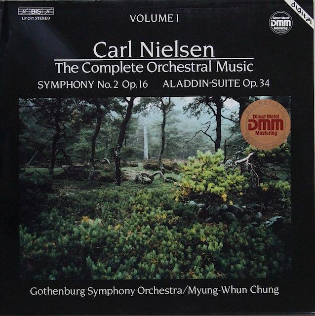 チョンのニールセン/交響曲第2番ほか 独BIS 3297 LP レコード