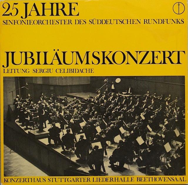 チェリビダッケのブルックナー/交響曲第7番ほか 独SWR 2820 LP レコード(少々難あり)