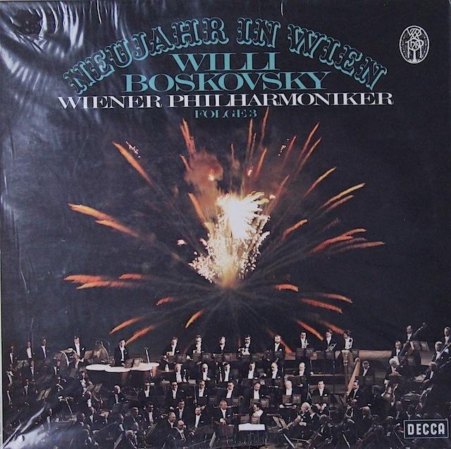 【未開封】ボスコフスキーのニュー・イヤー・コンサート 独DECCA 2818 LP レコード