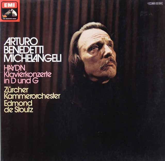 ミケランジェリのハイドン/ピアノ協奏曲集 独EMI 2901 LP レコード