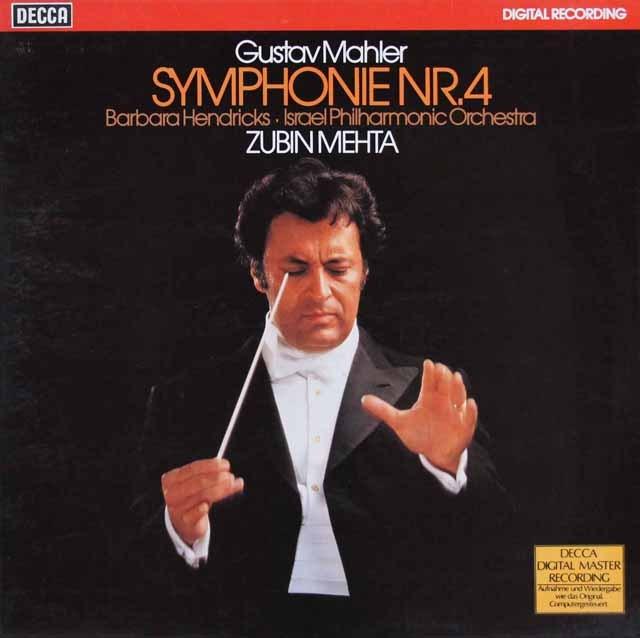 メータのマーラー/交響曲第4番 独DECCA 3286 LP レコード