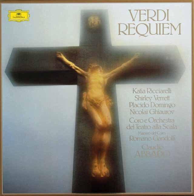 アバドのヴェルディ/「レクイエム」  独DGG 2903 LP レコード