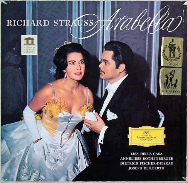 カイルベルトのR.シュトラウス/「アラベラ」全曲 独DGG 2904 LP レコード