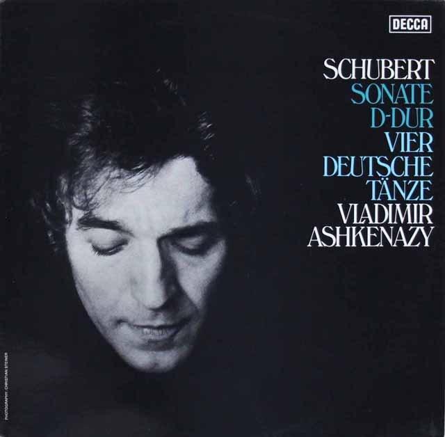 アシュケナージのシューベルト/ピアノソナタ第17番 独DECCA 3285 LP レコード