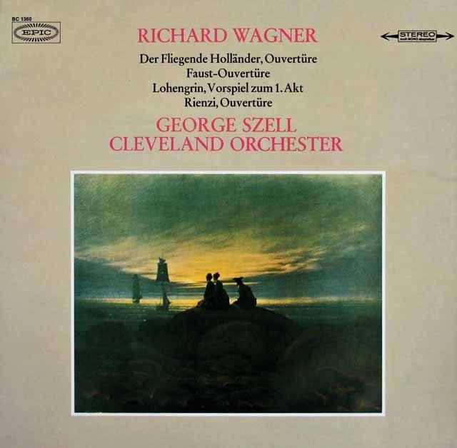 セルのワーグナー/管弦楽名曲集 独EPIC 2909 LP レコード