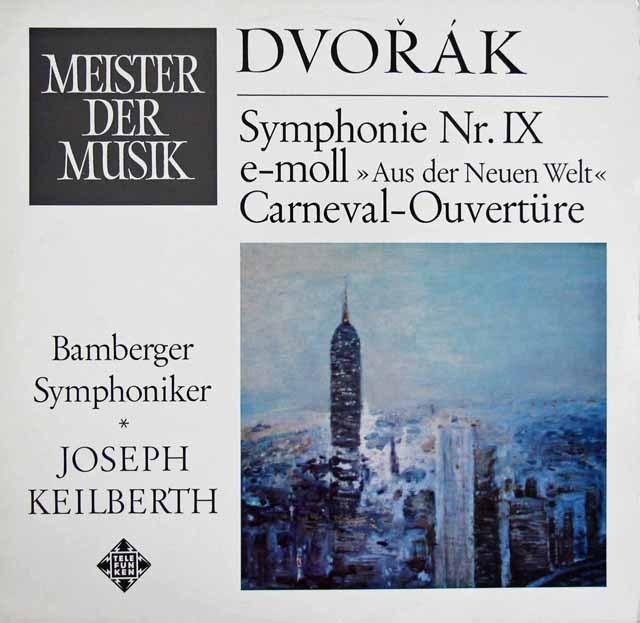 カイルベルトのドヴォルザーク/交響曲第9番「新世界より」  独TELEFUNKEN 2909 LP レコード