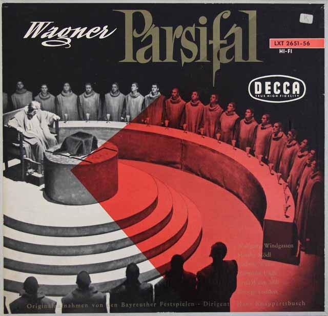 クナッパーツブッシュのワーグナー/「パルジファル」全曲 独DECCA 3284 LP レコード