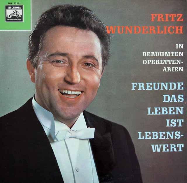 ヴンダーリヒ:オペレッタ集 独ELECTROLA 3284 LP レコード