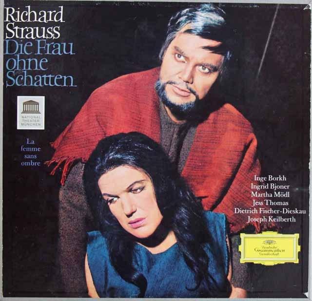 【オリジナル盤】カイルベルトのR.シュトラウス/「影のない女」 独DGG 2911 LP レコード