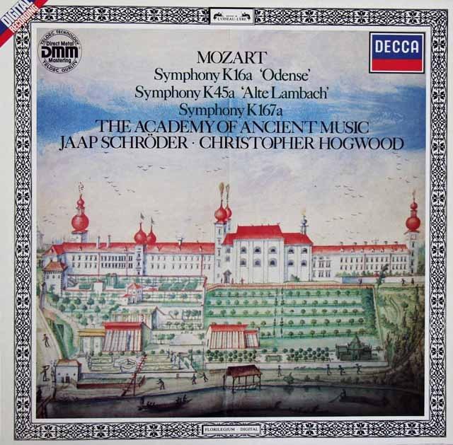 ホグウッドのモーツァルト/交響曲「オーデンセ」&「旧ランバッハ」ほか 独DECCA 2913 LP レコード