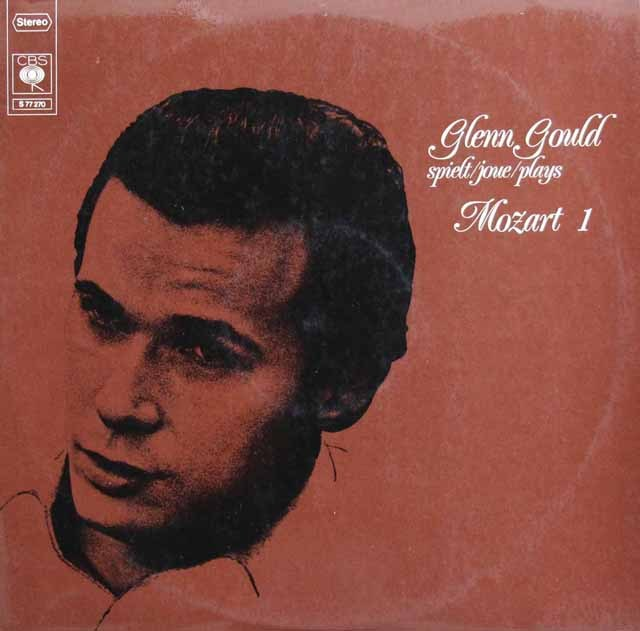 グールドのモーツァルト/ピアノソナタ第1番~第7番&第9番 独CBS 2915 LP レコード