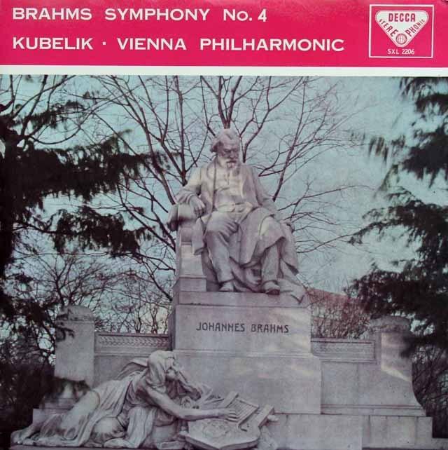 【オリジナル盤】クーベリックのブラームス/交響曲第4番 英DECCA 2915 LP レコード