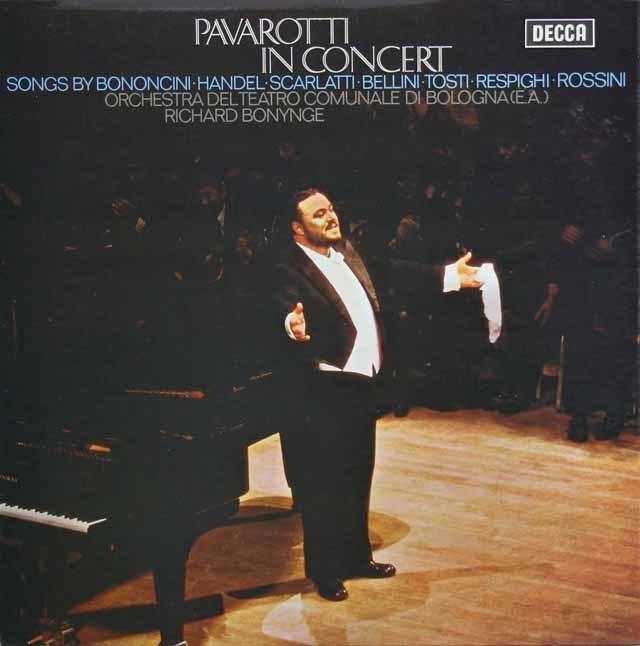 【オリジナル盤】パヴァロッティ・イン・コンサート 英DECCA 2915 LP レコード