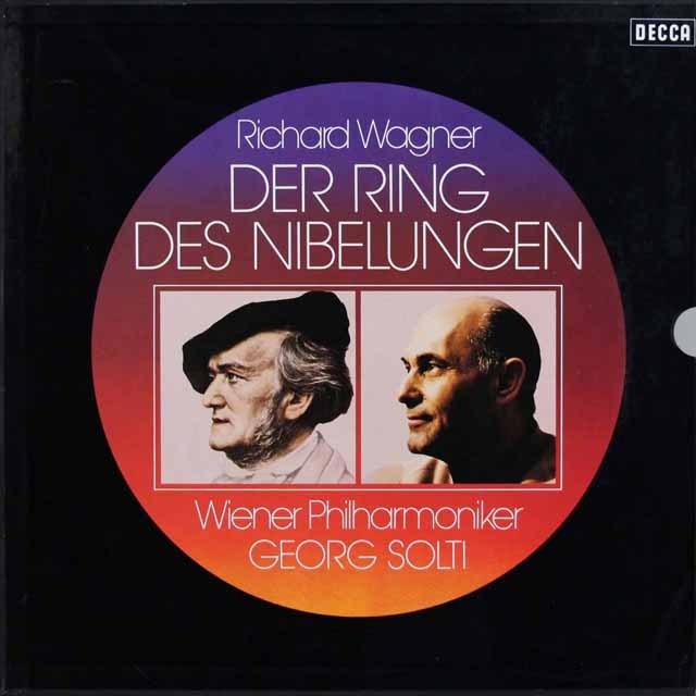 ショルティのワーグナー/「ニーベルングの指環」全曲 独DECCA 2917 LP レコード