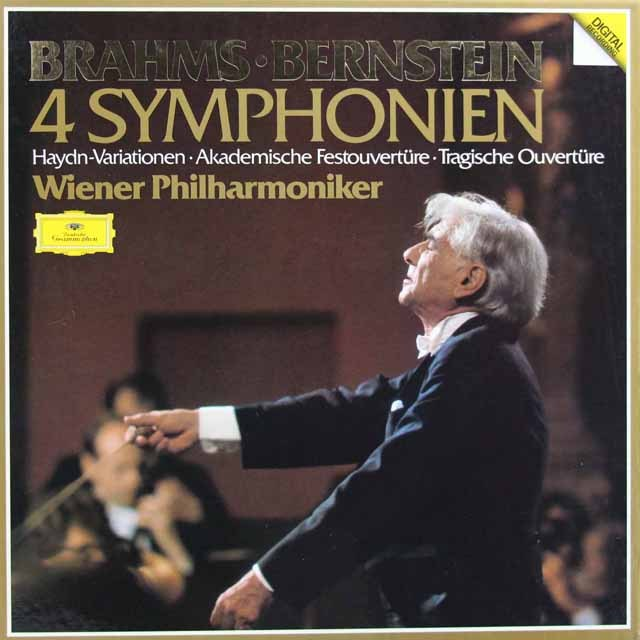 バーンスタインのブラームス/交響曲全集 独DGG 2919 LP レコード