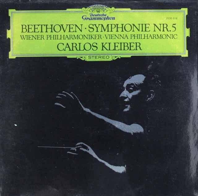 クライバーのベートーヴェン/交響曲第5番「運命」 独DGG 2919 LP レコード