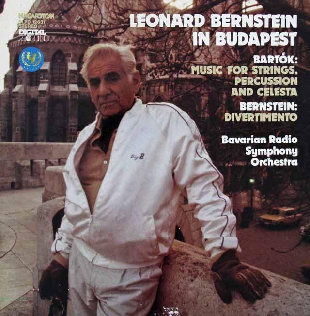 バーンスタインの1983年ブダペストライヴ  ハンガリーHungaroton 3283 LP レコード