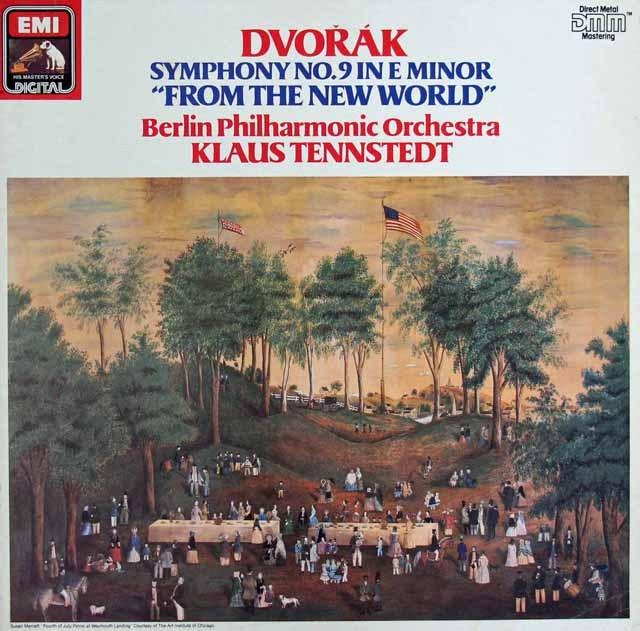 テンシュテットのドヴォルザーク/交響曲第9番「新世界より」 独EMI 2921 LP レコード