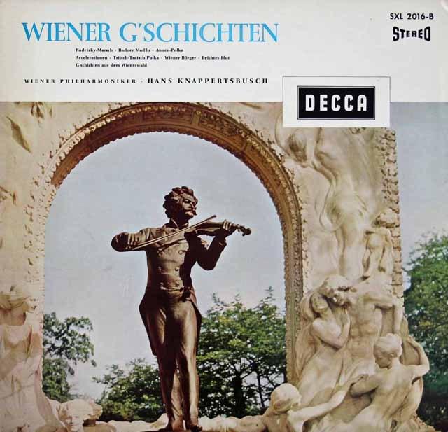 クナッパーツブッシュ/ウィーンの休日  独DECCA 2921 LP レコード