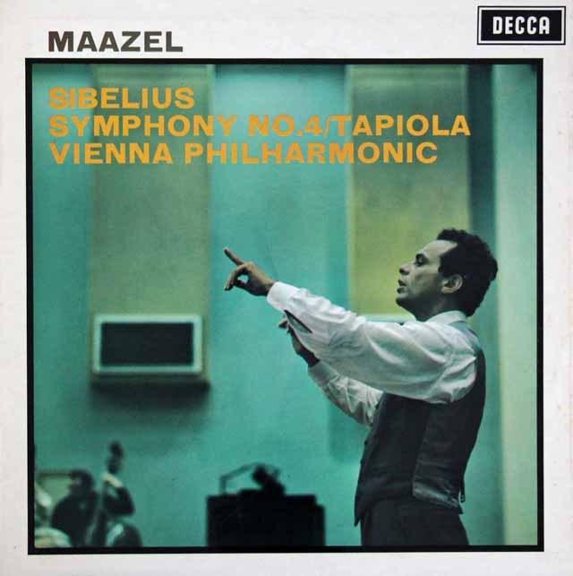 マゼールのシベリウス/交響曲第4番 英DECCA 3282 LP レコード
