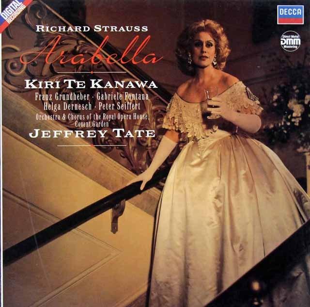 テ・カナワ&テイトのR.シュトラウス/「アラベラ」全曲  独DECCA 2921 LP レコード