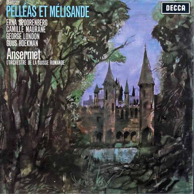 アンセルメのドビュッシー/「ペレアスとメリザンド」全曲 英DECCA 3281 LP レコード