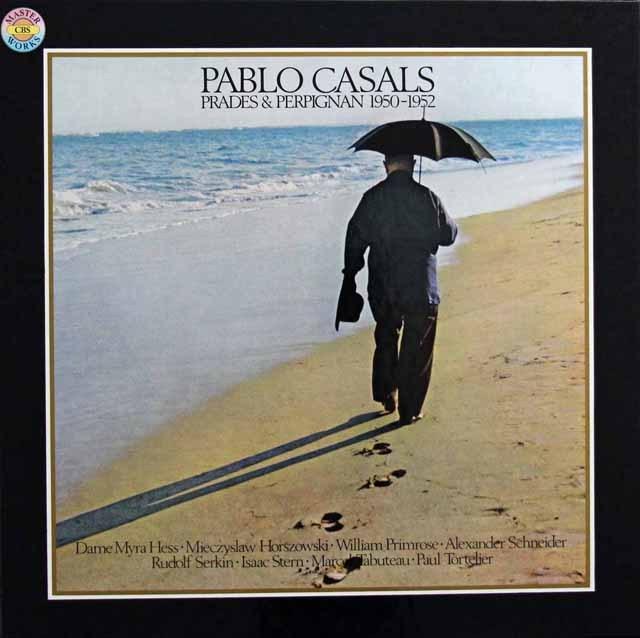 カザルス/プラード&ペルピニャン音楽祭 独CBS 3281 LP レコード
