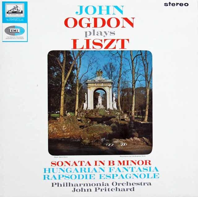 【オリジナル盤】 オグドンのリスト作品集 英EMI 3281 LP レコード