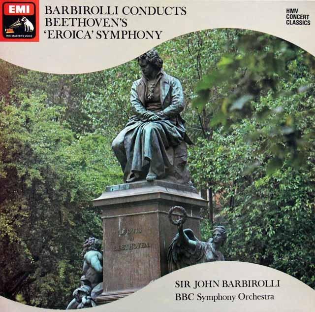 バルビローリのベートーヴェン/交響曲第3番「英雄」 英EMI 2925 LP レコード
