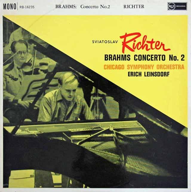 【オリジナル盤】リヒテル&ラインスドルフのブラームス/ピアノ協奏曲第2番 英RCA 3131 LP レコード