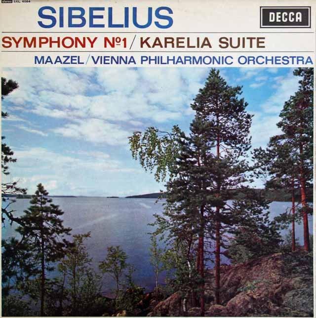 マゼールのシベリウス/交響曲第1番ほか 英DECCA 3281 LP レコード